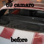Chevy Camaro Windshield
