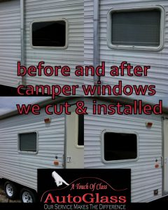 Camper Glass Repair Knoxville TN